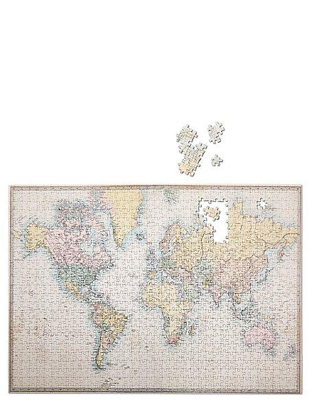 World Map 1000 Piece Jigsaw
