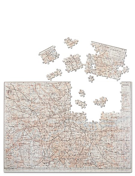 Map of London 500 Piece Puzzle