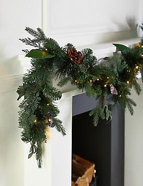 Christmas Lit Garland