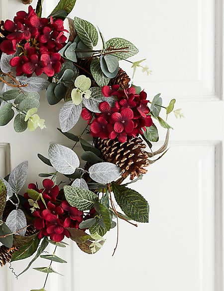 18 inch Floral Wreath