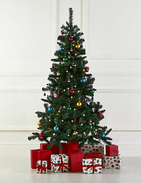 6Ft Tree, Bright's Bauble & Lights Bundle