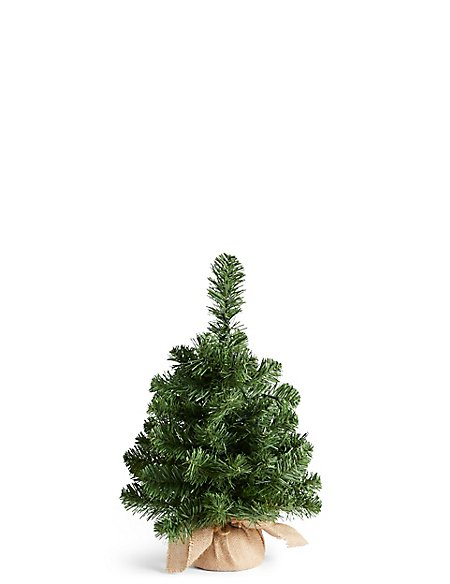 1.5Ft Lit Nordic Spruce Tree