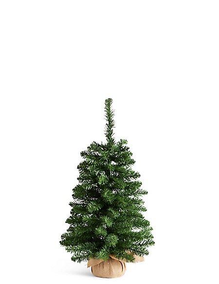 3Ft Lit Nordic Spruce Tree