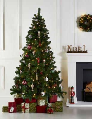 7Ft Lit Nordic Spruce Tree