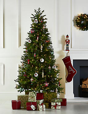 7ft christmas tree with lights 7ft lit fraser fir tree christmas trees artificial indoor outdoor ms