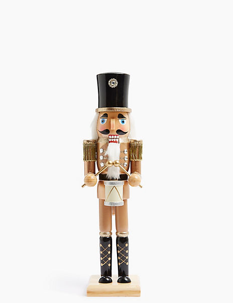 Bronze Nutcracker Decoration