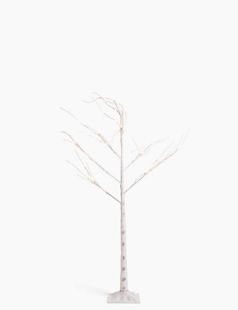 5ft Light Up Birch Tree