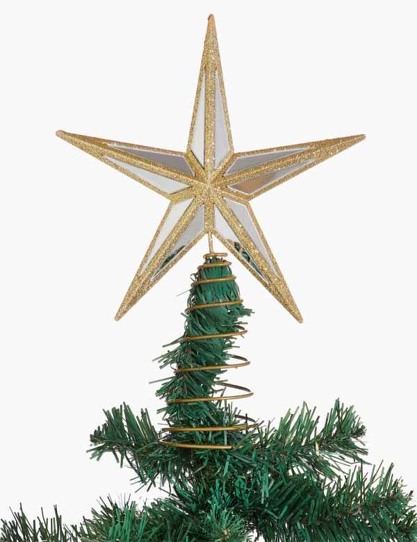 Christmas Tree Star.Christmas Tree Toppers Star Snowflake Tree Toppers M S