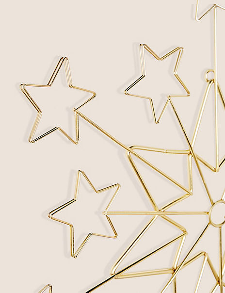 Gold Star Card Holder