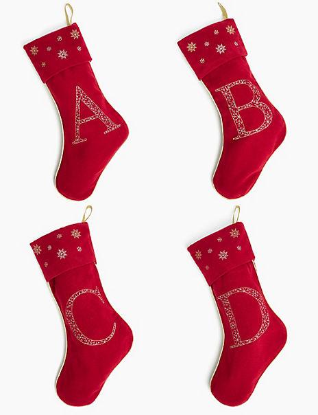 Alphabet A-Z Stocking