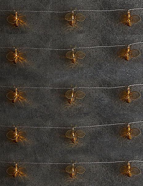 Bee Solar String Lights