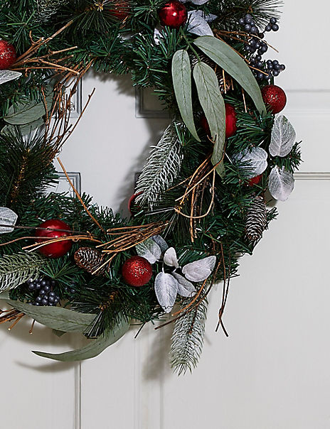24inch Extra Large Bauble Wreath
