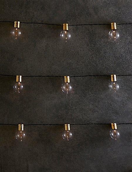 Image result for Gold Top Festoon Solar String Lights