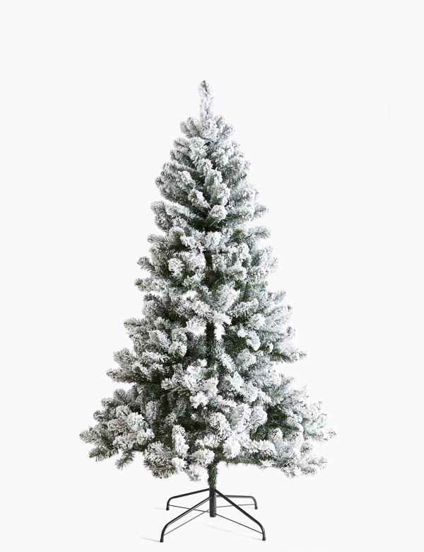 Image Christmas Tree.Christmas Trees Artificial Pre Lit Christmas Trees M S