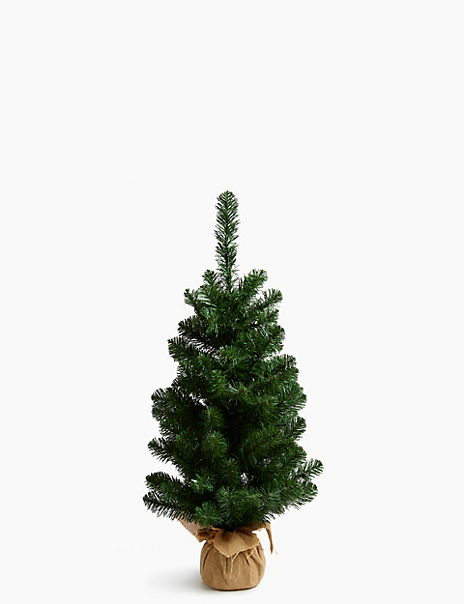 3ft Pre Lit Nordic Spruce Christmas Tree