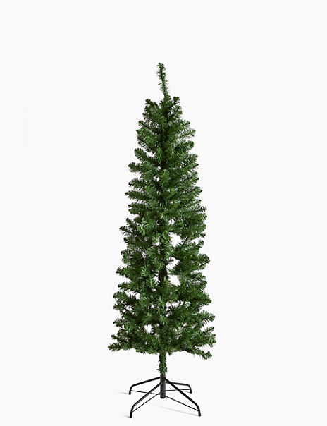 6ft Pre Lit Slim Nordic Christmas Tree