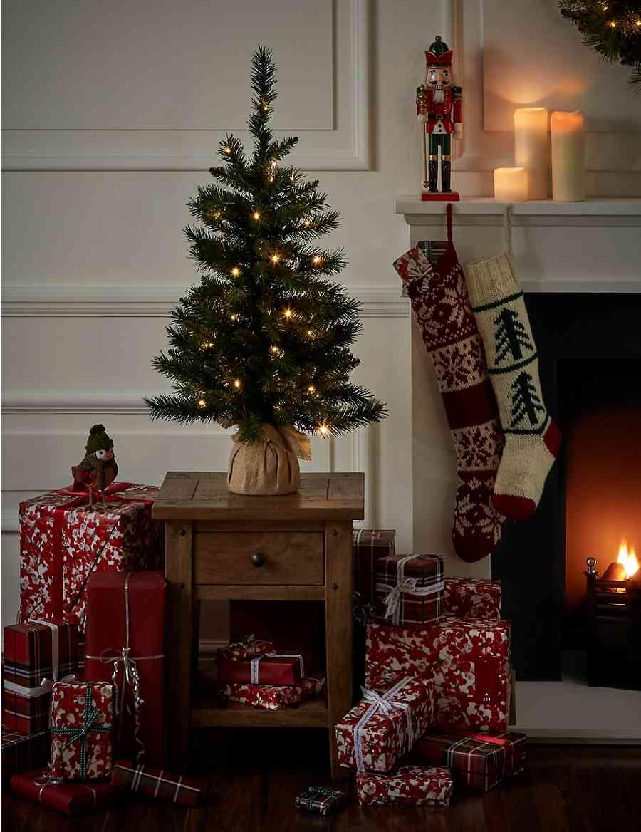 3ft Pre Lit Christmas Tree Ms