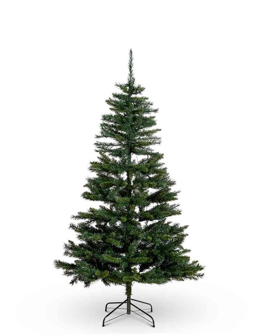 6Ft Pre Lit Christmas Tree | M&S