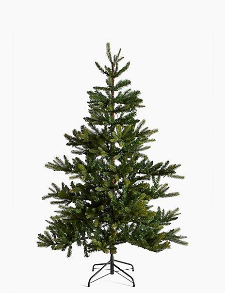 6ft Pre Lit Noble Fir Christmas Tree
