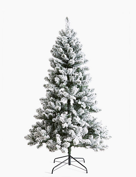 7ft Snowy Christmas Tree
