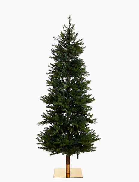 7ft Pre Lit Fraser Fir Christmas Tree