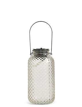 Large Clear Solar Jar Light