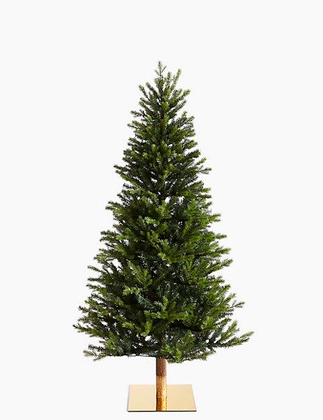 6ft Pre Lit Fraser Fir Christmas Tree