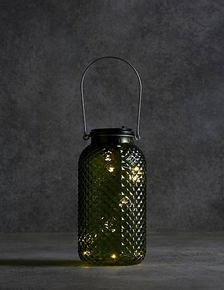 Large Green Solar Light