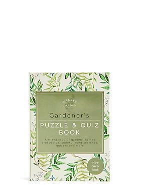Gardener's Puzzle & Quiz Book