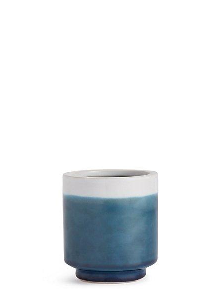 11cm Small Blue Reactive Planter