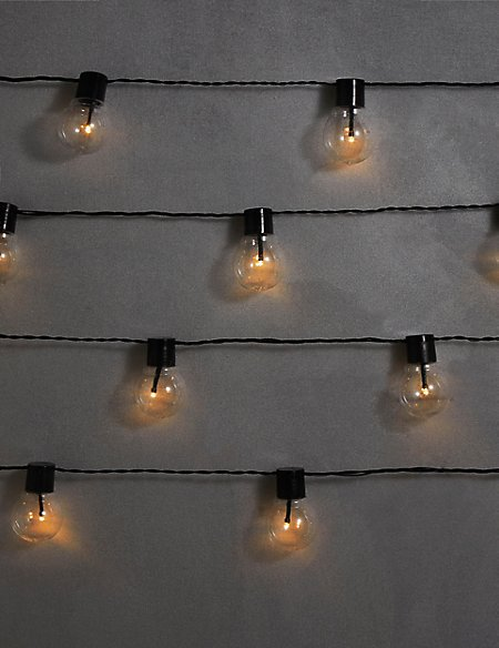 20 Festoon Mains Lights