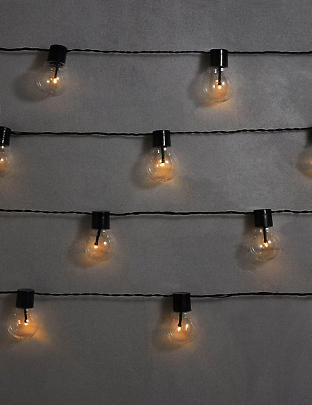 20 Festoon Solar Lights