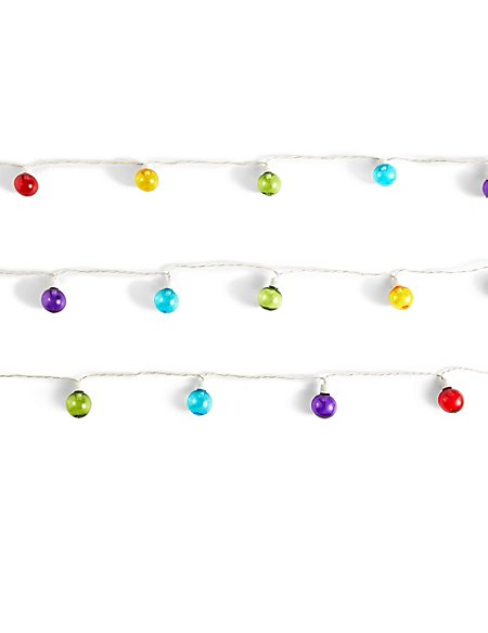 20 Multi-Coloured Festoon Lights