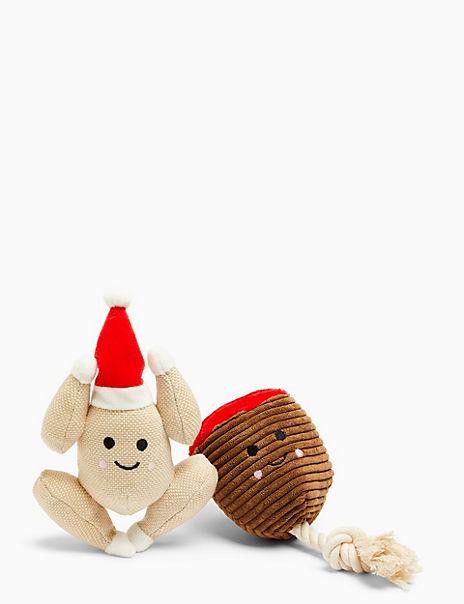 Ham & Turkey Dog Toy