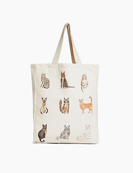 Animal Printed Tote Bag