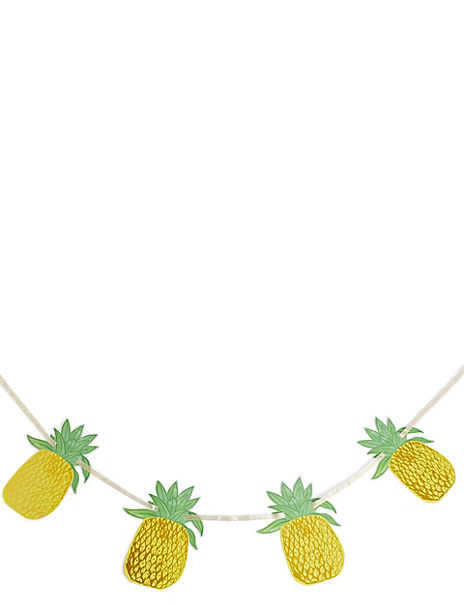 Pineapple Paper Garland