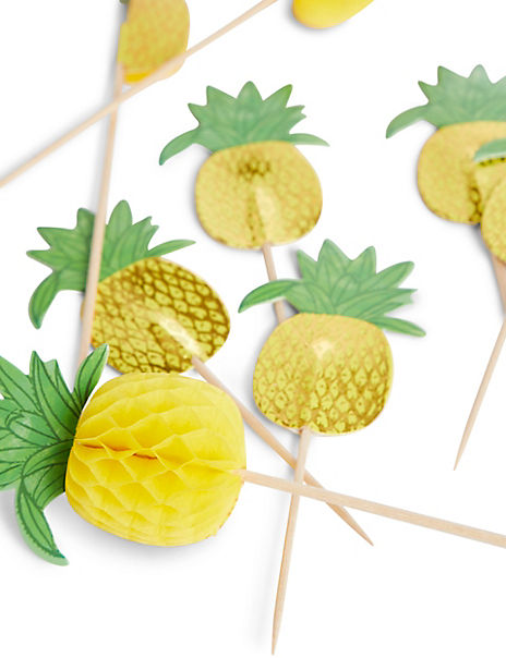 12 Pineapple Picks