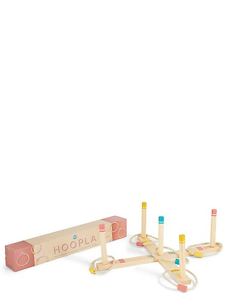 Wooden Hoopla Set