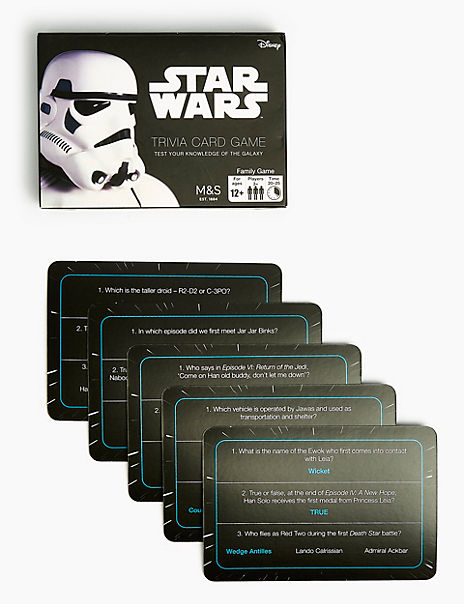 Star Wars™ Trivia Card Game