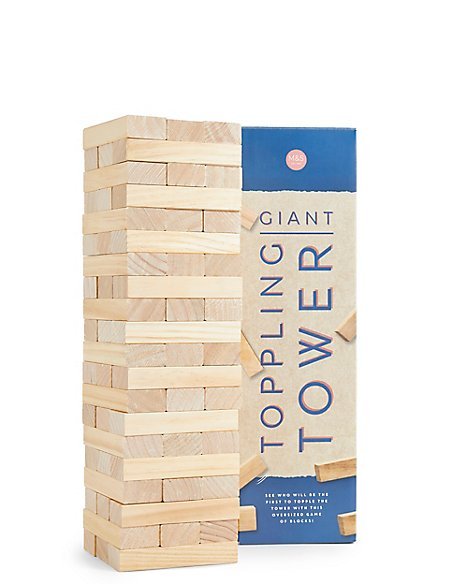 Wooden Giant Toppling Tower