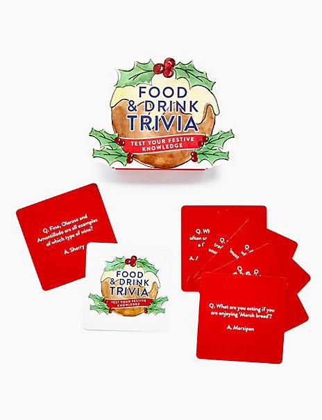 Christmas Food & Drink Trivia Game