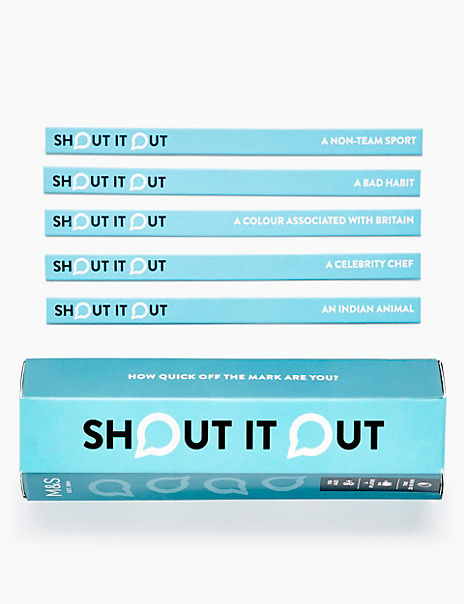 Shout It Out Game