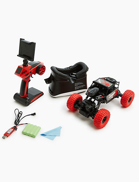 Camera Stunt Buggy with VR Headset