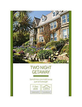 Two Night Getaway for Two - Gift Experience Voucher