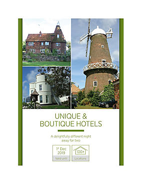Unique & Boutique Hotel Stay - Gift Experience Voucher