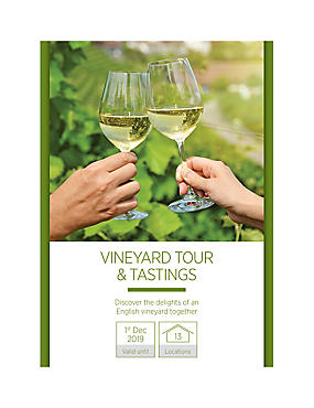 Vineyard Tour & Tastings for Two - Gift Experience Voucher