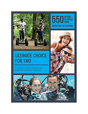 Ultimate Choice for Two - Gift Experience Voucher