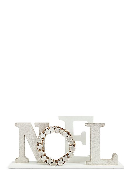 Standing Noel Letters