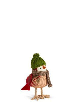 Red Robin With Green Hat by Marks & Spencer