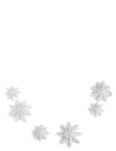 Snowflake Paper Garland